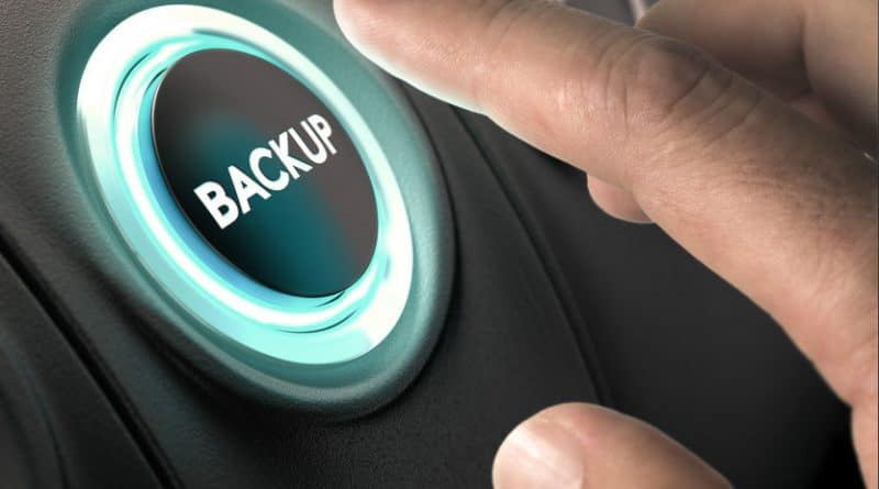 cara backup data