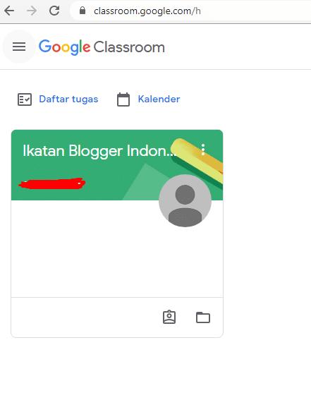 cara menggunakan classroom