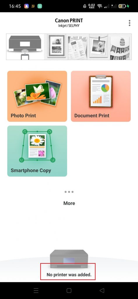 Ngeprint Melalui Hp Menggunakan Aplikasi Canon Print