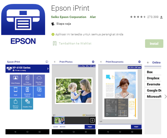 Cara Ngeprint Melalui Hp Menggunakan Aplikasi Epson