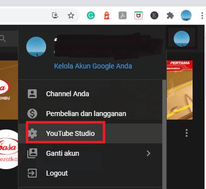 Cara Melihat Subscriber dengan Youtube Studio