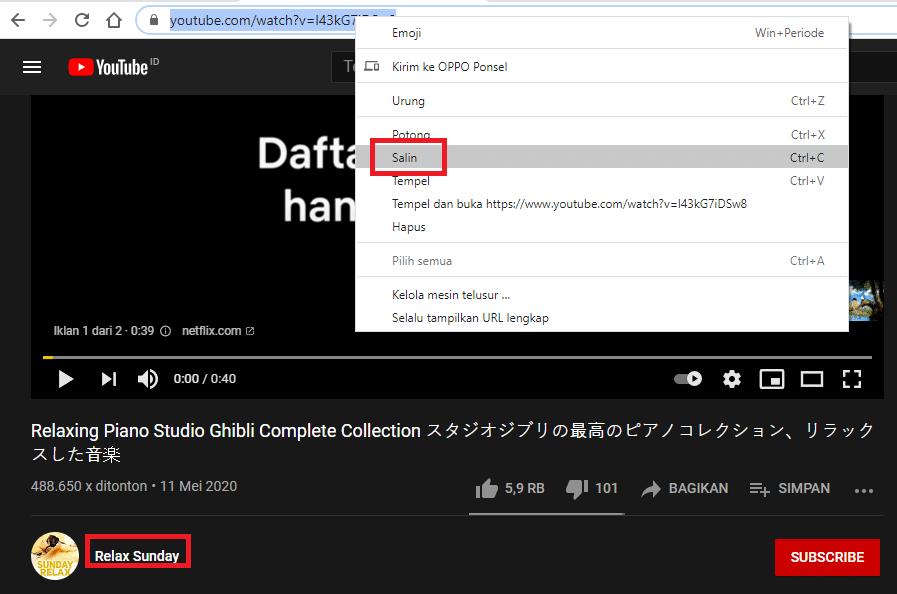 Cara Melihat Subscriber di Channel Youtube Orang Lain