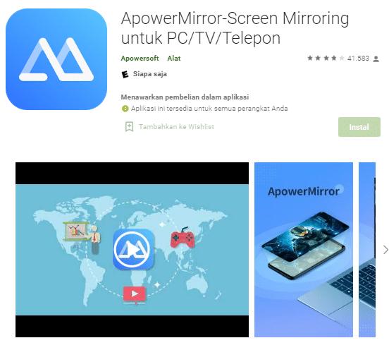aplikasi mirroring android ke tv