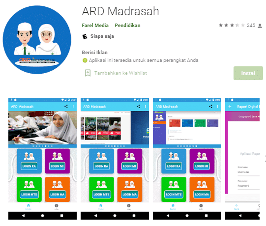 aplikasi raport digital terbaik