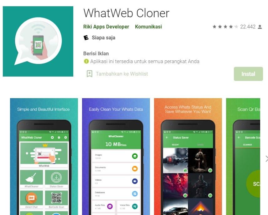 Cara Menggunakan WhatWeb Cloner