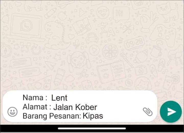 cara buat link whatsapp di ig