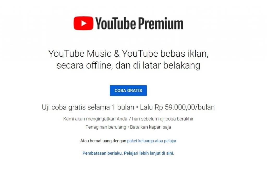 tutorial cara menghilangkan iklan di youtube
