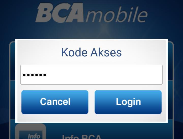 cara beli pulsa di mobile banking bca