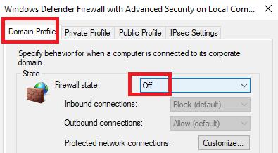 tutorial cara mematikan firewall windows 10