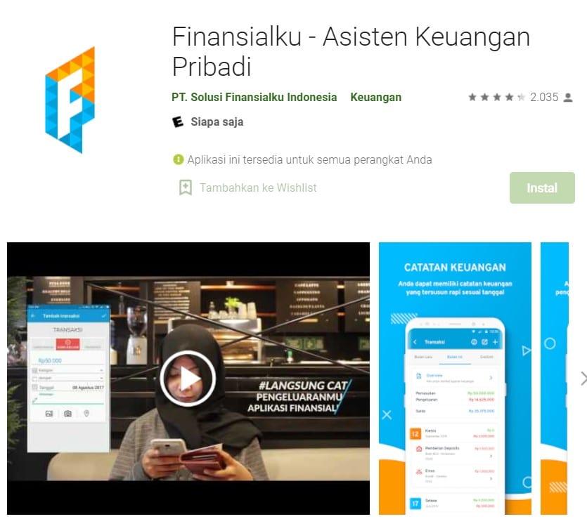aplikasi pencatat keuangan terbaik