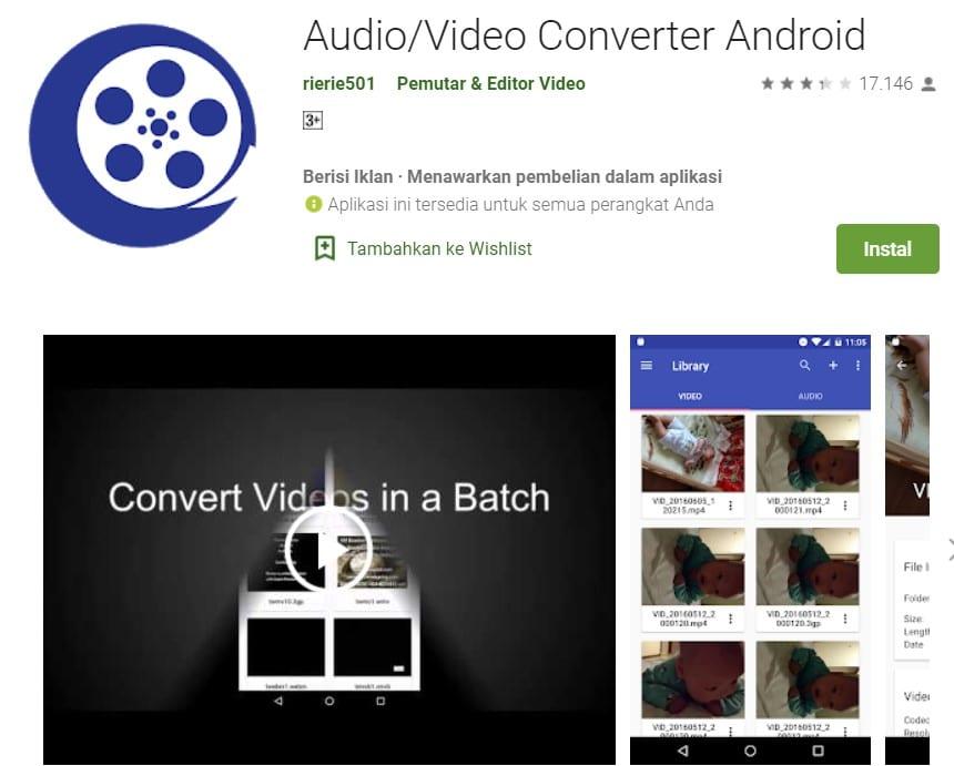 aplikasi convert video hp