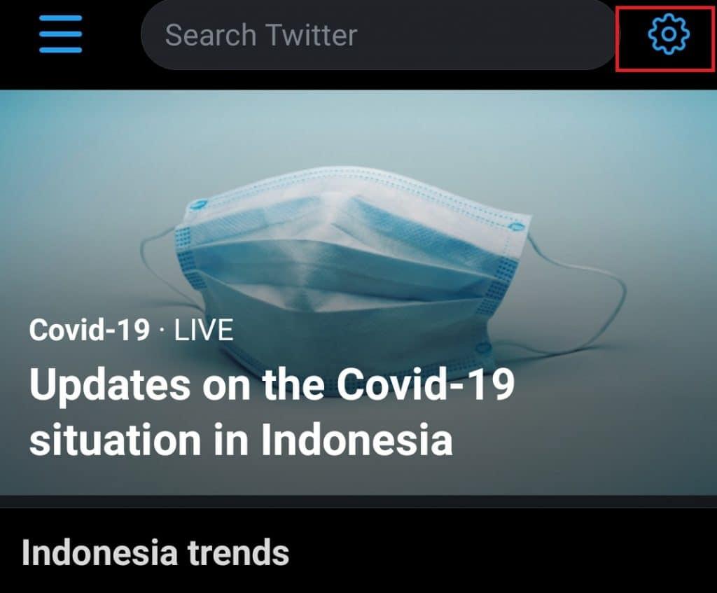 tutorial cara melihat trending topik