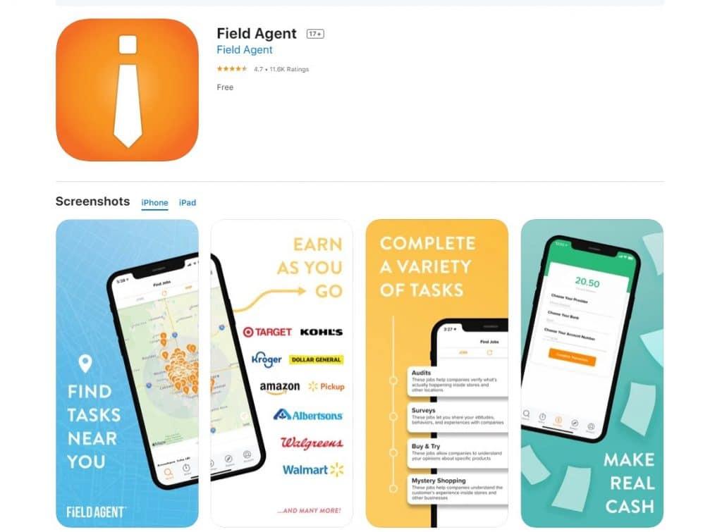 aplikasi Field Agent