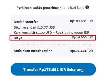 biaya admin