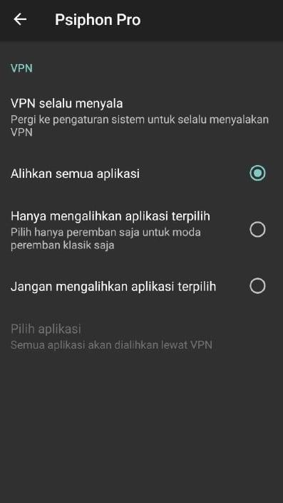 Selanjutnya, klik sub-menu